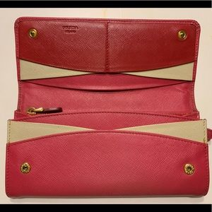 Prada limited edition wallet